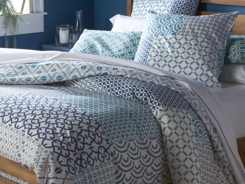 Blue Patterned Duvet Covers