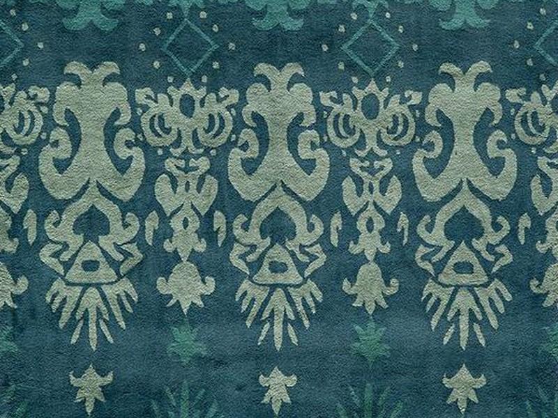 Blue Wool Rug