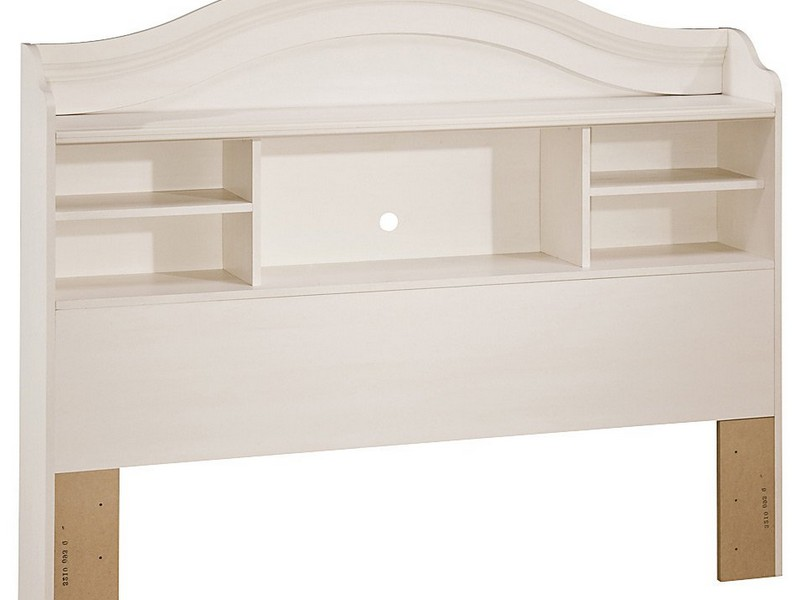 Bookcase Headboard Full Plans