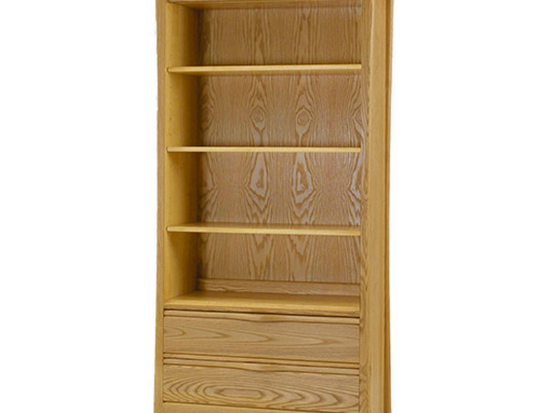 Bookcase With File Drawers