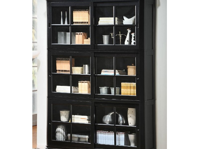 Bookshelves With Glass Doors