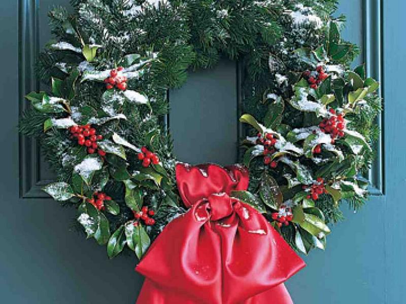 Bows For Wreaths Martha Stewart