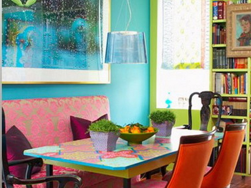 Bright Colored Dining Chairs