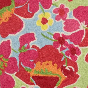 Bright Floral Area Rugs