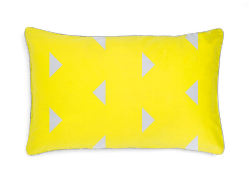 Bright Yellow Pillow Cases