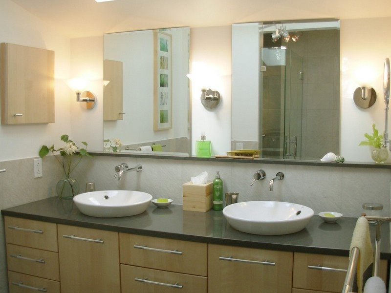 Bronze Bathroom Mirror