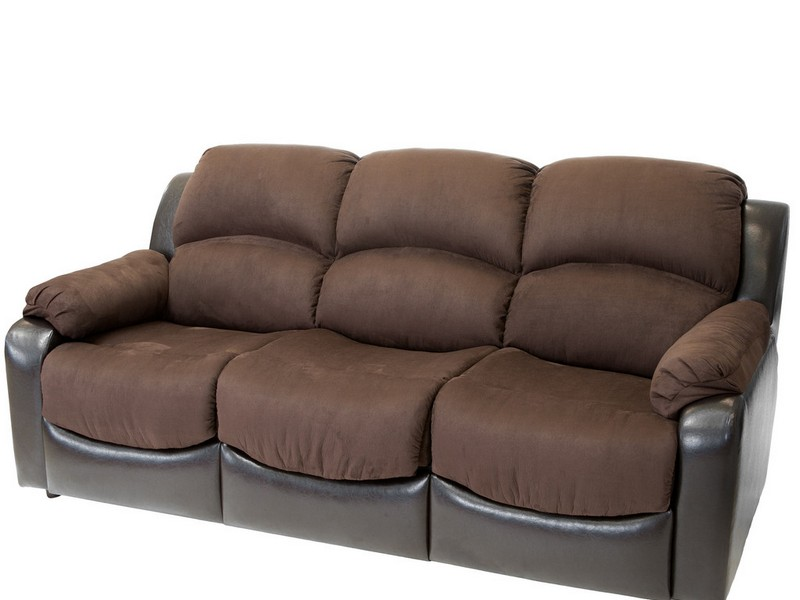 Brown Leather Sleeper Sofa