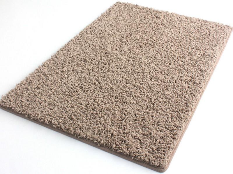 Brown Shag Area Rug