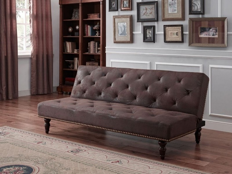 Brown Suede Couch Cover