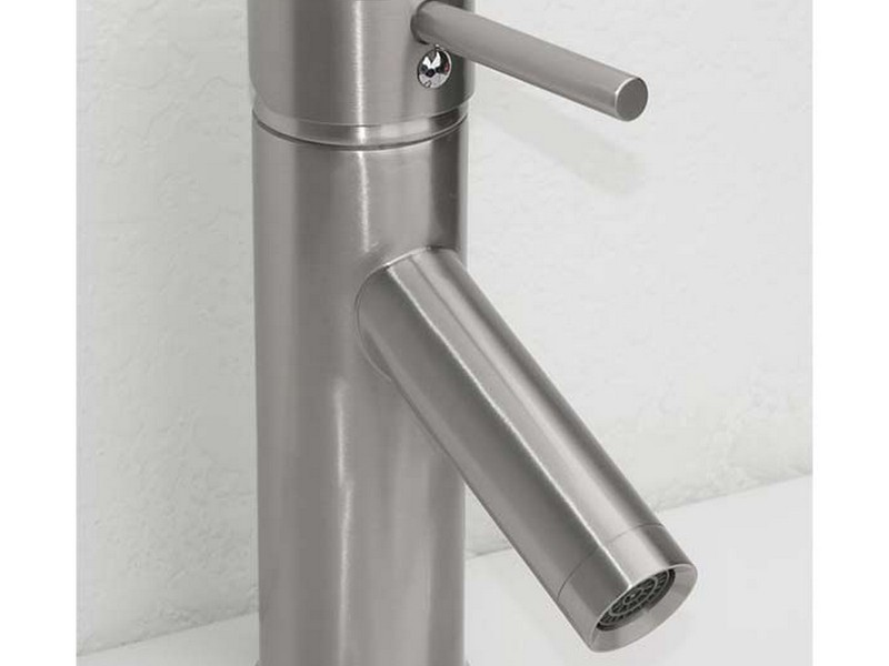Brushed Nickel Bathroom Faucets Single Handle