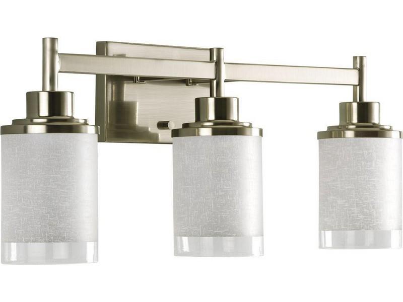 Brushed Nickel Bathroom Lights Home Depot