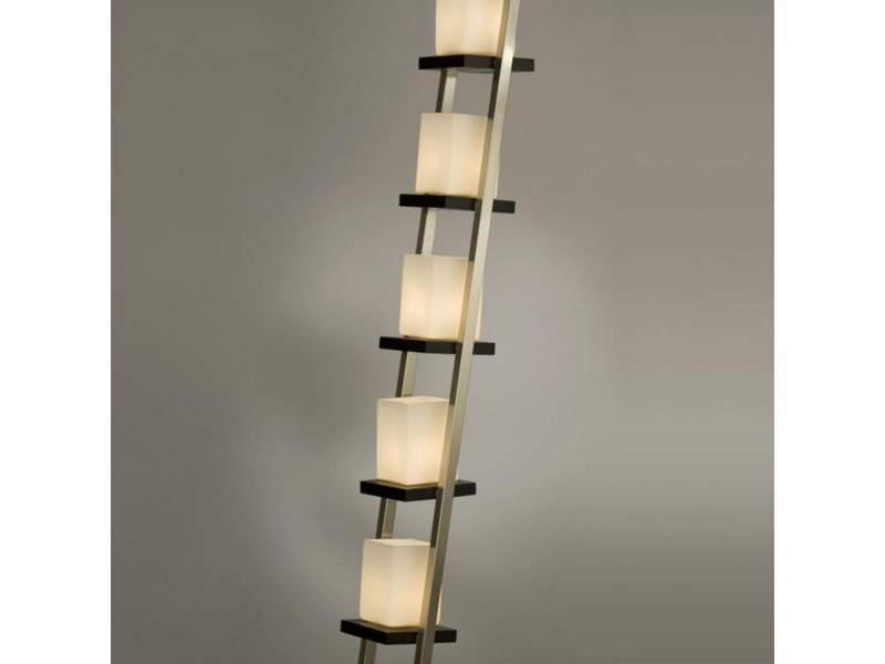 Brushed Nickel Floor Lamps