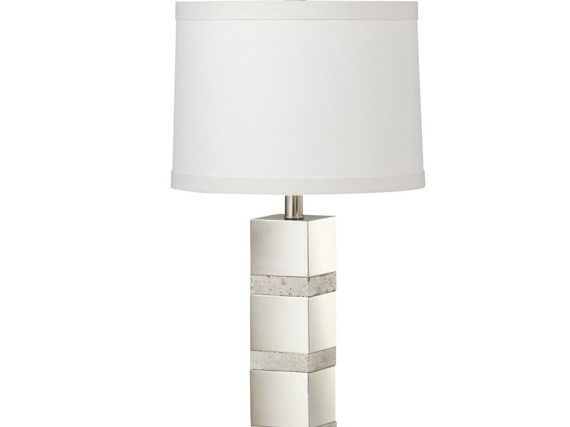 Brushed Nickel Table Lamps Set Of 2