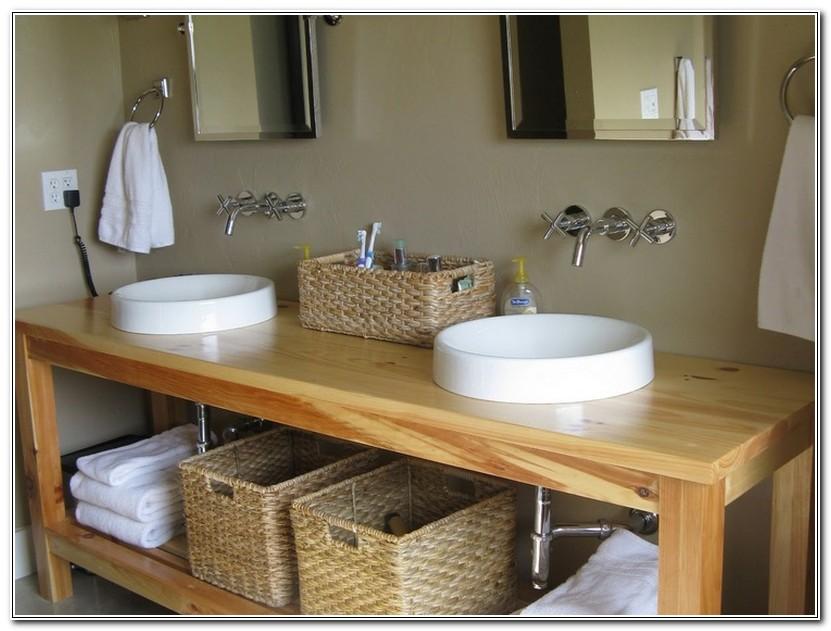 Build Bathroom Vanity Yourself