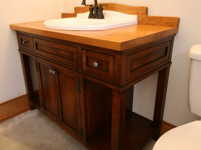 Build Your Own Bathroom Vanity Kits