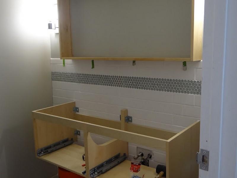 Building A Bathroom Vanity Cabinet