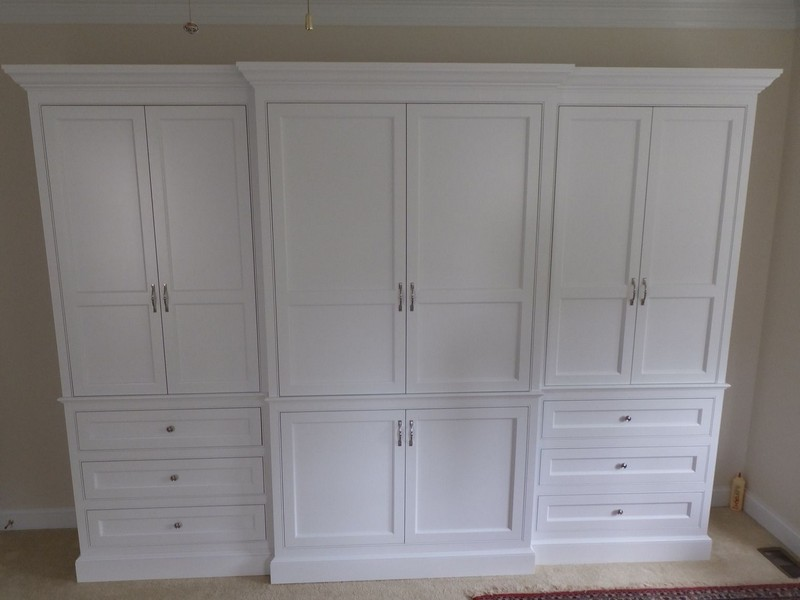 Built In Armoire Cabinets