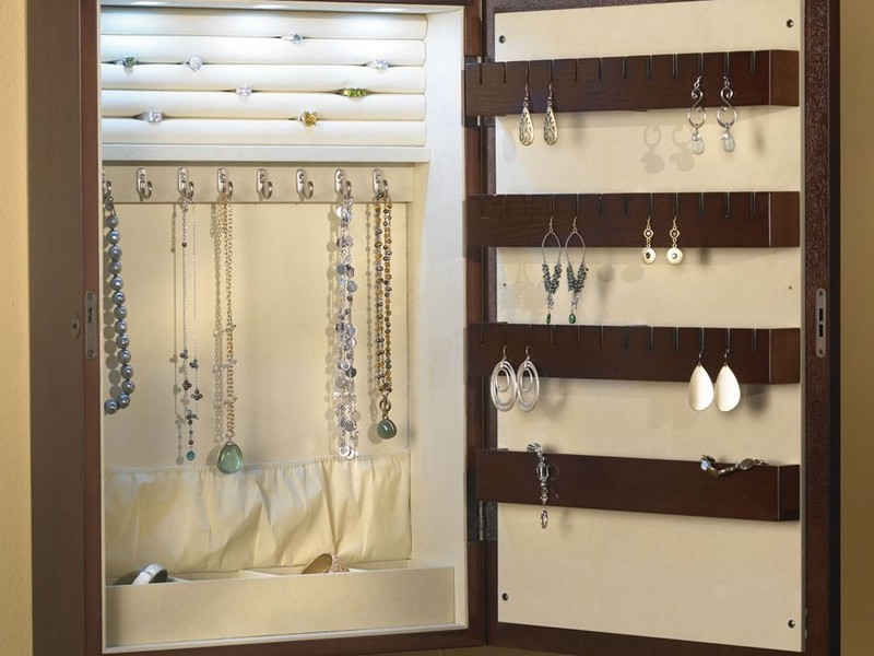 Built In Jewelry Armoire