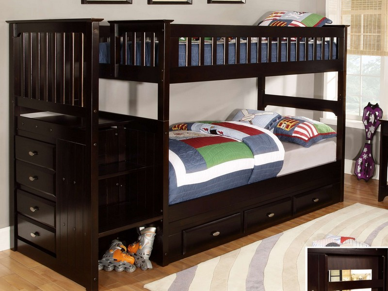 Bunk Bed With Spiral Staircase