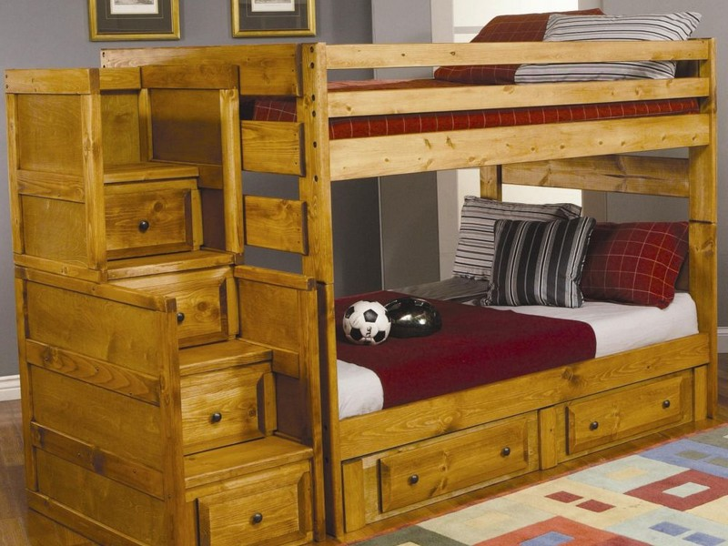 Bunk Bed With Staircase