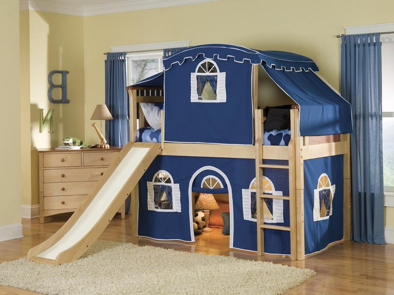 Bunk Beds For Boys With Stairs