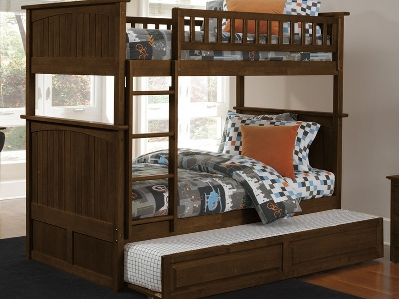 Bunk Beds With Trundle And Desk