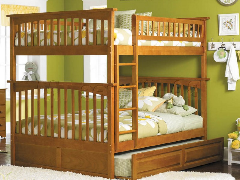 Bunk Beds With Trundle And Drawers