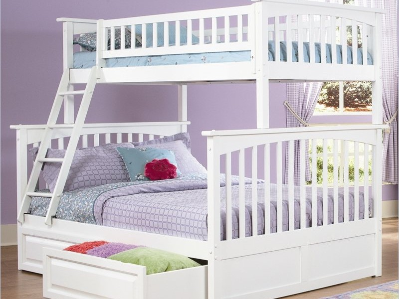 Bunk Beds With Trundle And Mattresses