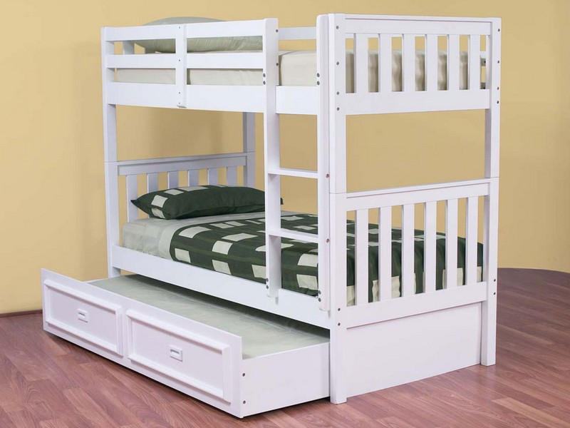 Bunk Trundle Bed