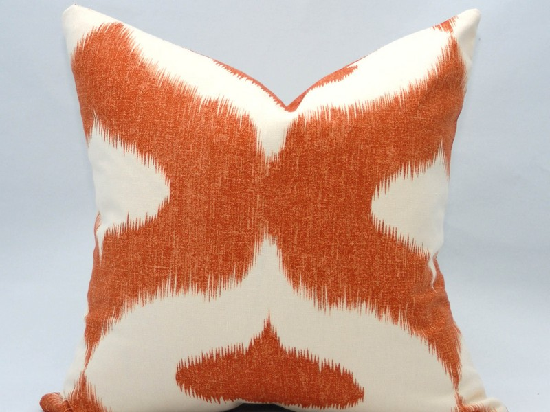 Burnt Orange And Brown Pillows