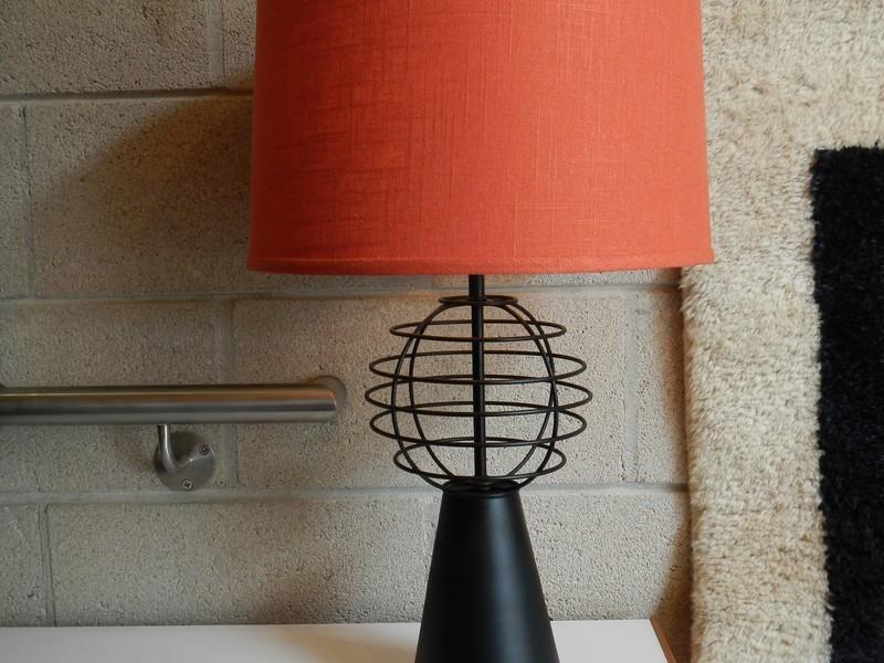 Burnt Orange Lamp Shades