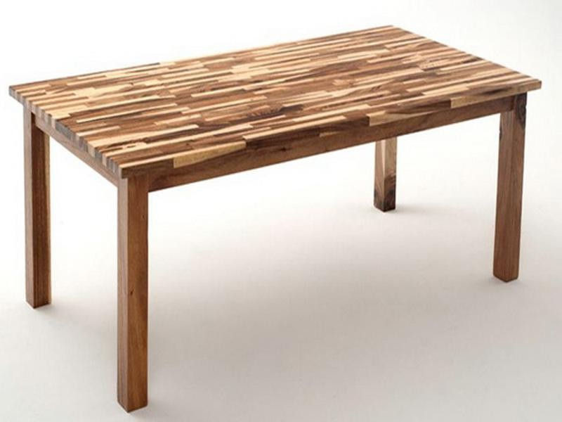 Butcher Block Dining Room Table