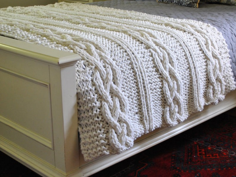 Cable Knit Bedding Canada