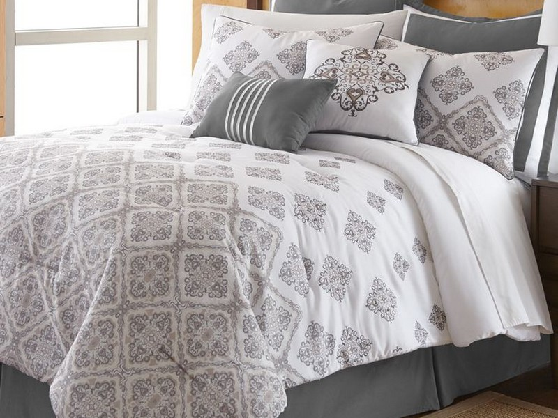 Cable Knit Comforter Set