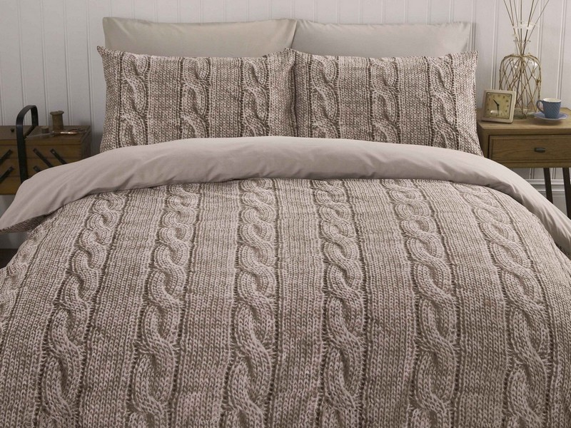 Cable Knit Comforter