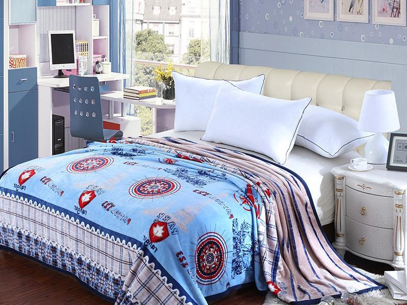 Cable Knit Print Bedding