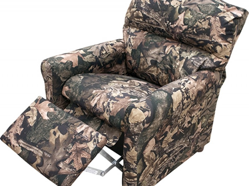 Camouflage Recliner For Kids