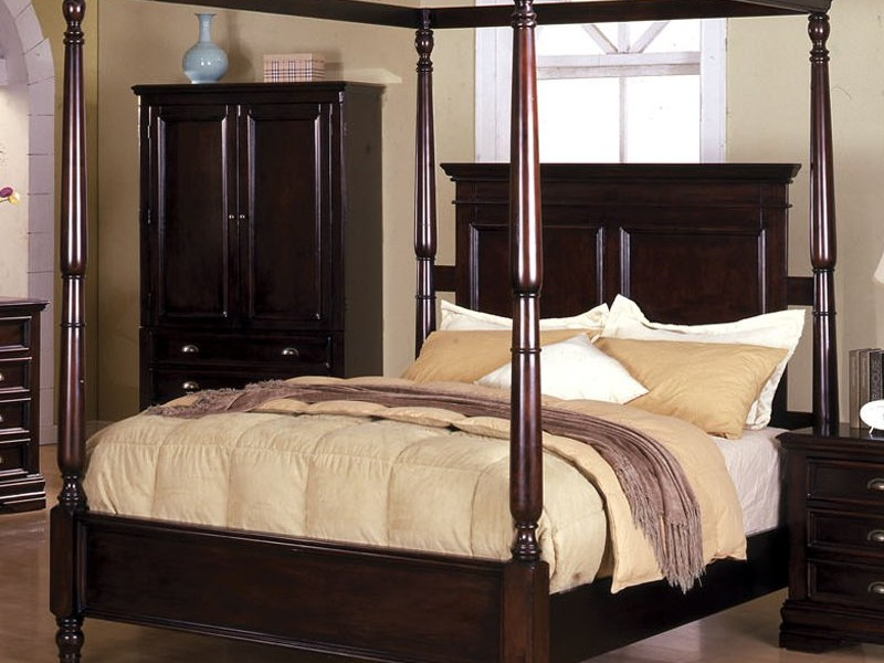 Canopy Bed Frames King