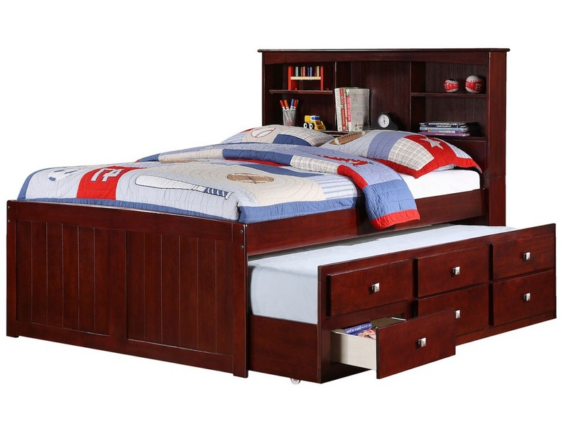 Captain Bed With Trundle Nz