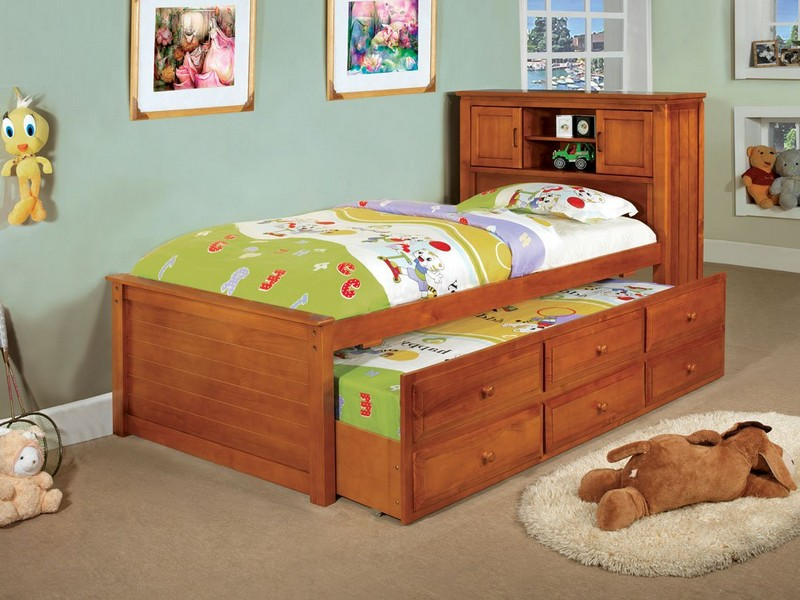 Captains Bed Plans Twin