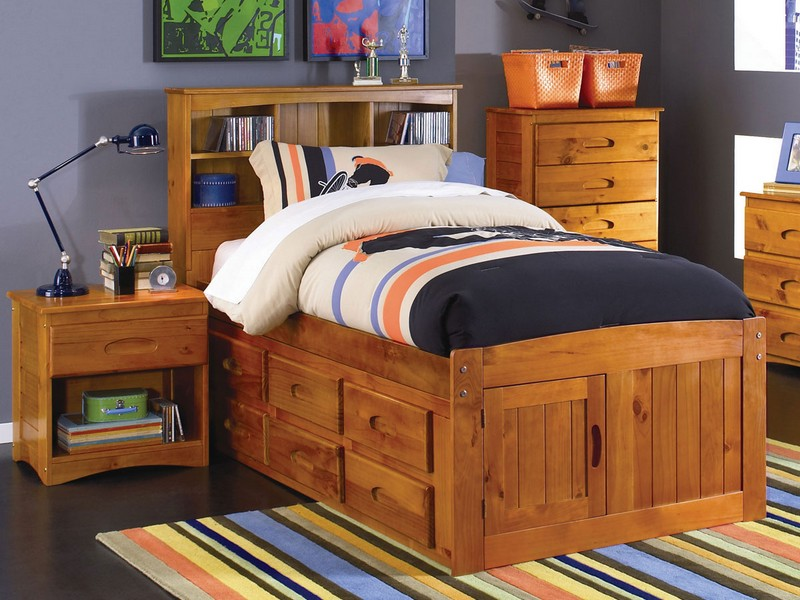 Captains Bed Twin Size