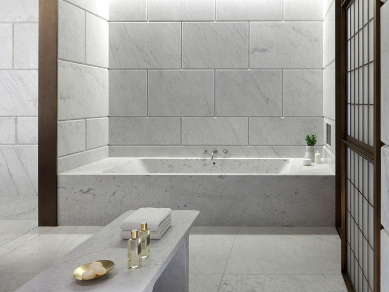 Carrara Marble Bathroom Accessories