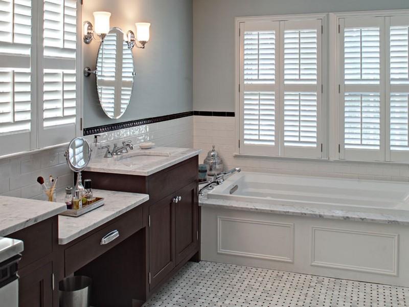 Carrara Marble Bathroom Floor Designs