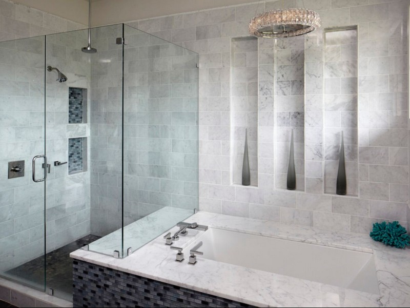 Carrera Marble Bathroom Ideas