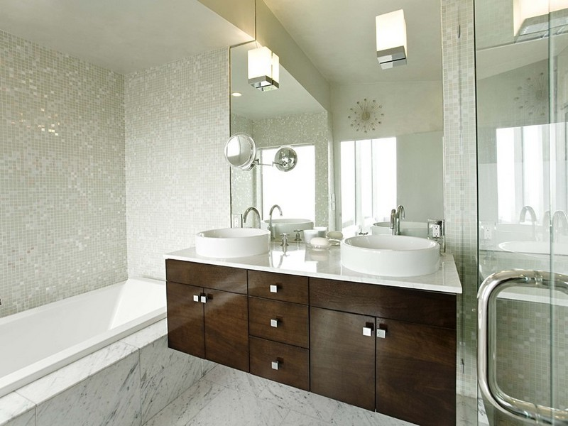 Carrera Marble Bathrooms Houzz