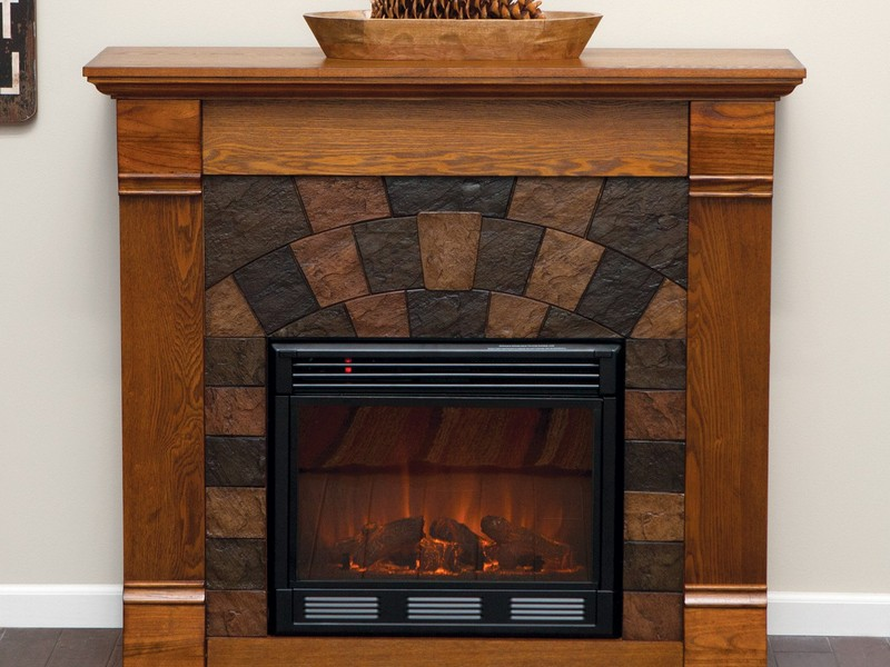 Carson Electric Fireplace Media Console