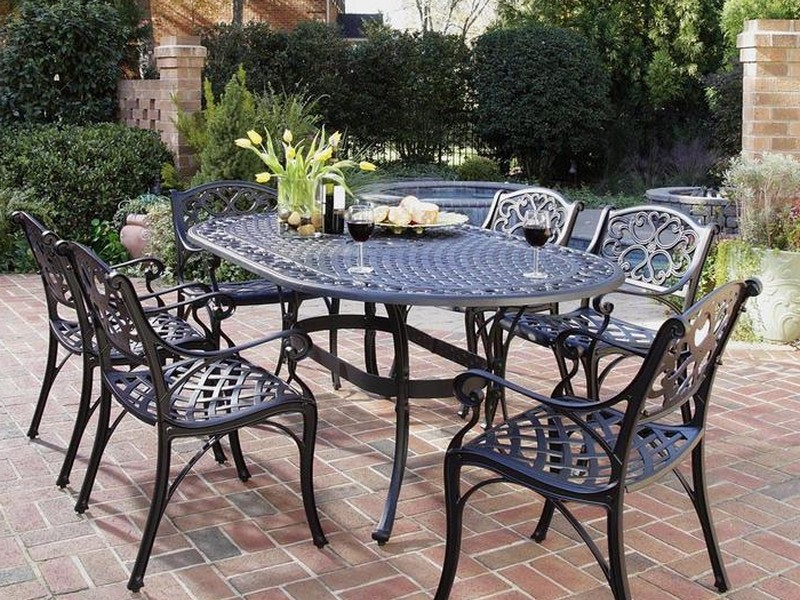 Cast Iron Bistro Set Outdoor