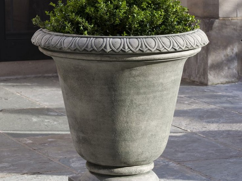 Cast Stone Urn Planters