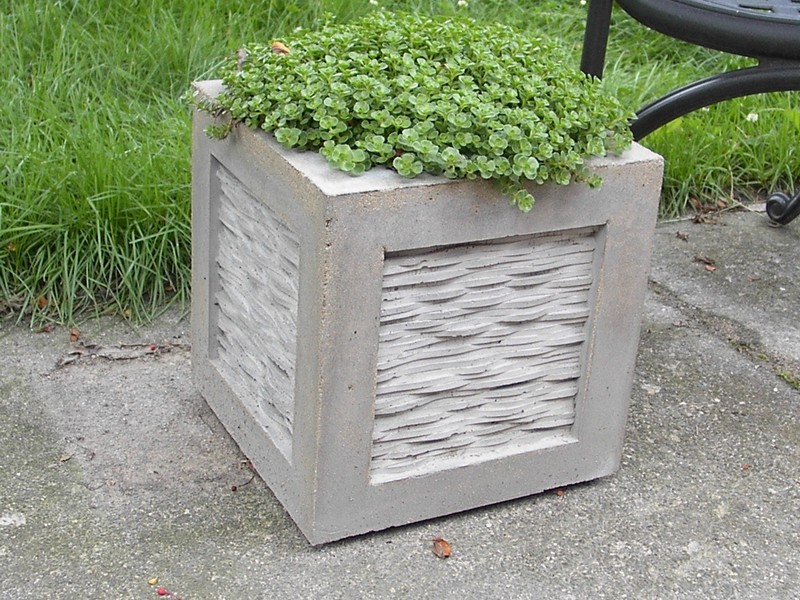 Cement Flower Pots Containers