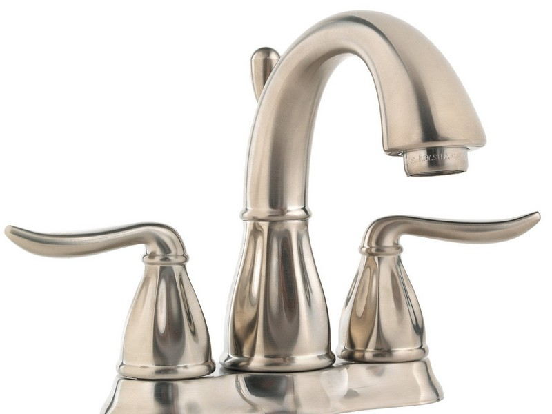 Centerset Bathroom Faucets Brushed Nickel